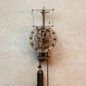 Ignatz Madera-Reloj centrífugo de pared madera-Ardavín Relojes Sig XV