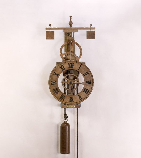Matutinus Madera-Reloj de pared de madera-Ardavín Relojes Siglo XV